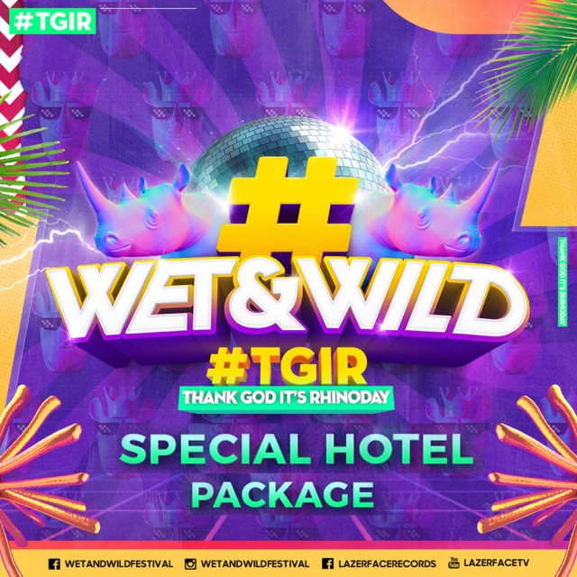 Wet & Wild Festival 2018 Special Hotel Package