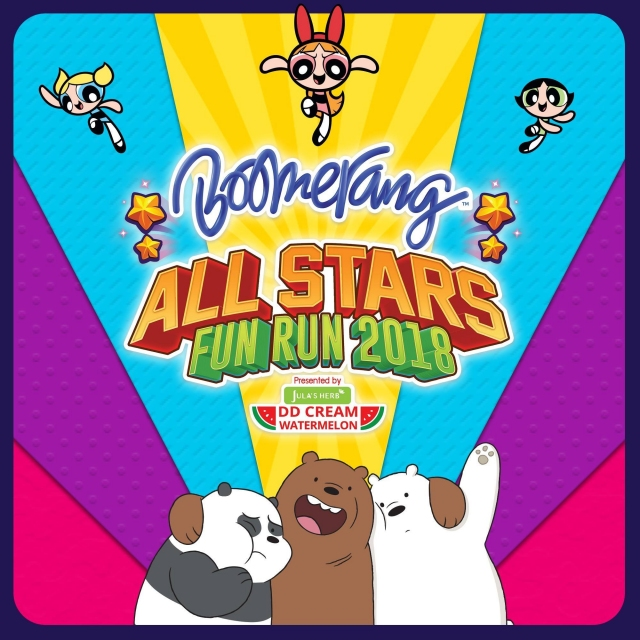 Boomerang All Stars Fun Run 2018